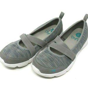 Ryka Womens Shoes Jamie Memory Foam Comfort Gray